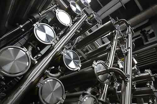 A picture of manufacturing equipment